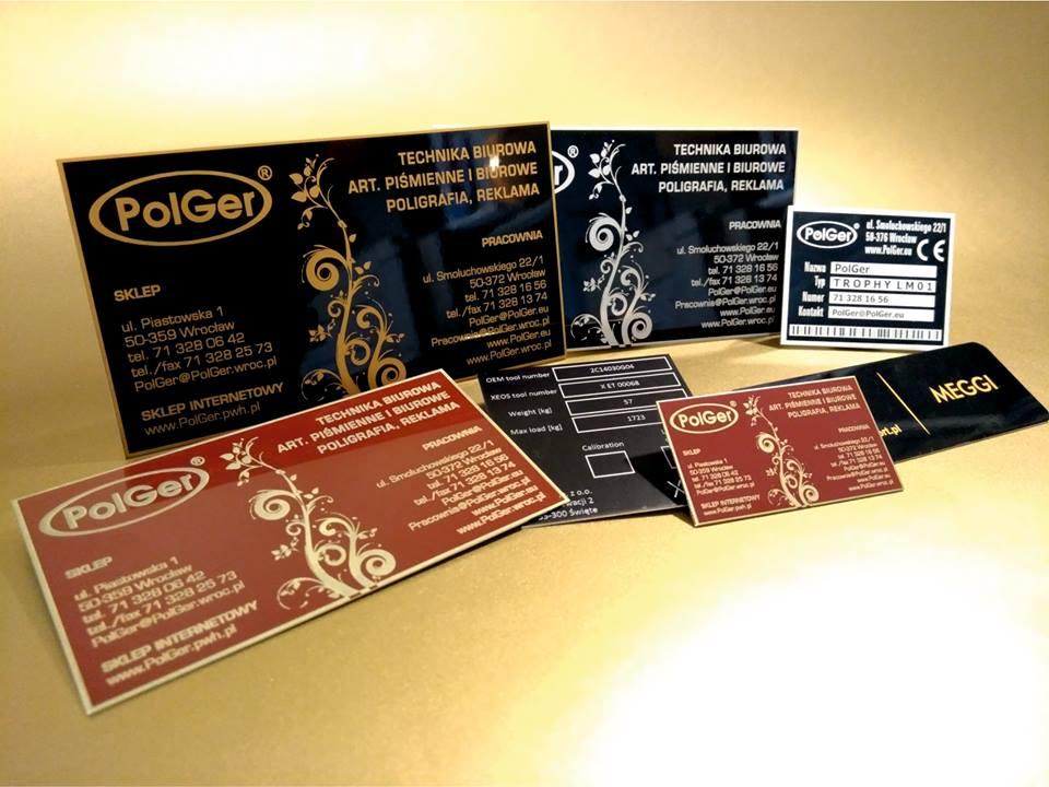 bbd3e2894465a Papierowa wizytówka to za mało  Zamów metalową! Elegancki niebanalny  identyfikator  Wypalimy go dla Ciebie!